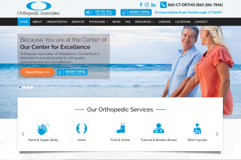 Orthopedic Associates of Middletown Connecticut